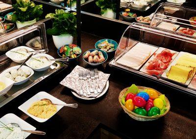 Aufschnitt und Aufstrich Frühstücksbuffet Landhotel Anna Salzburger Landc3006x1914