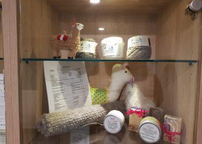 Alpaka Shop im Landhotel Anna
